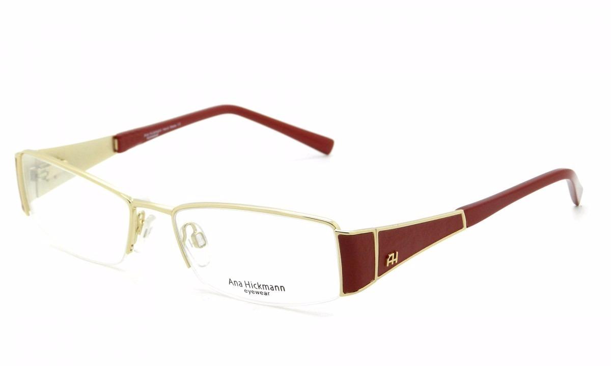 Armação Óculos Grau Ana Hickmann Ah1168 04b - Ref 466 - R  279,00 em  Mercado Livre 7ad8a8feb8