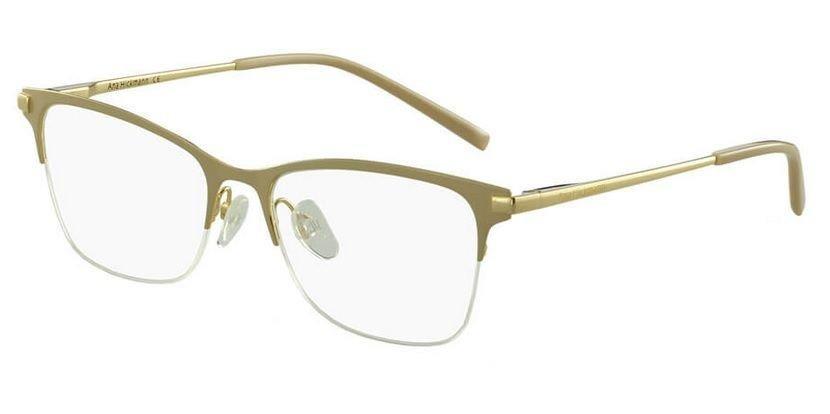 armação oculos grau ana hickmann ah1305 04a bege dourado. Carregando zoom. 8f1a254ad7