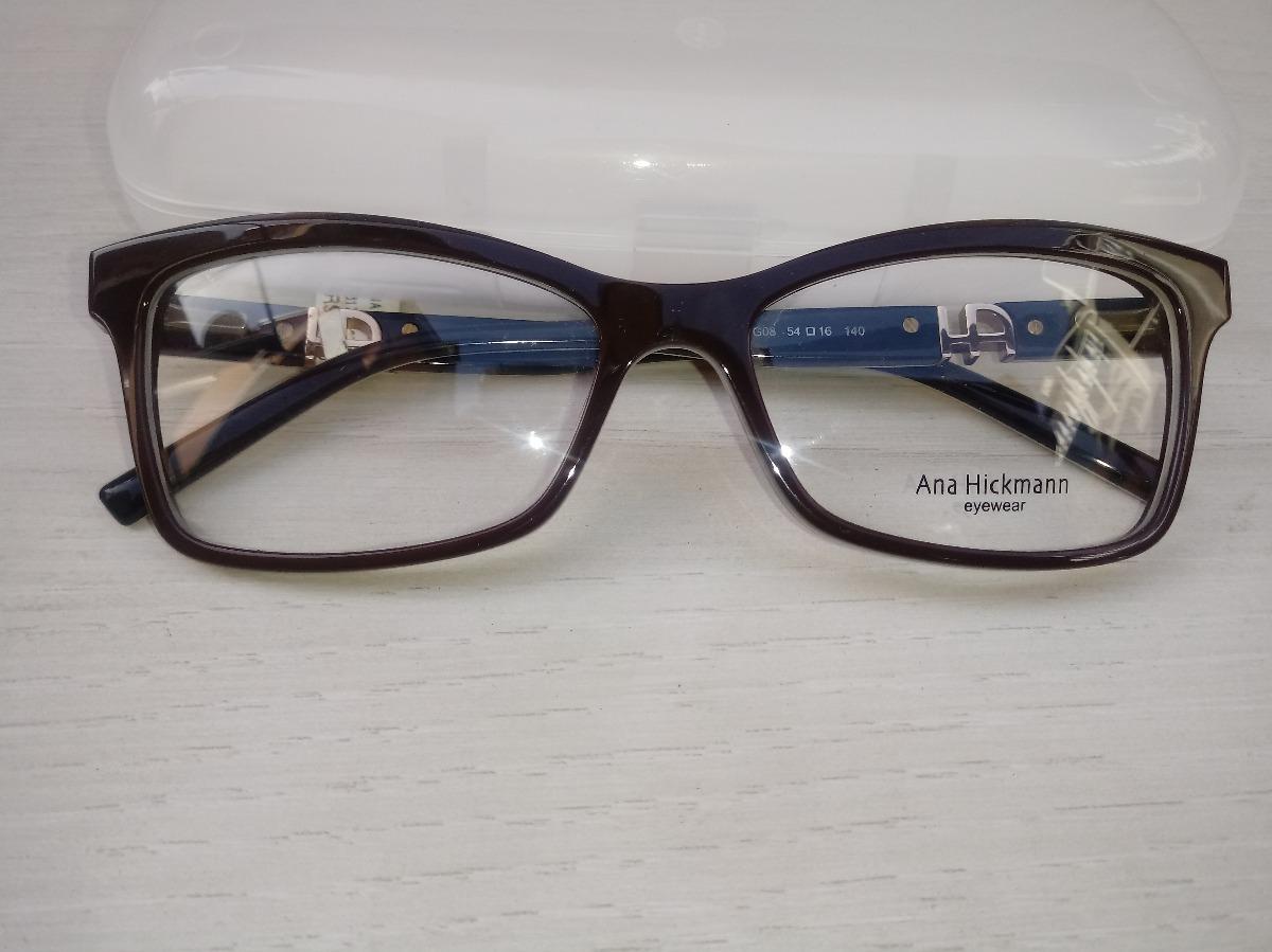 a1cdbabe3bf25 armação oculos grau ana hickmann ah6179 g08 - ref 78. Carregando zoom.