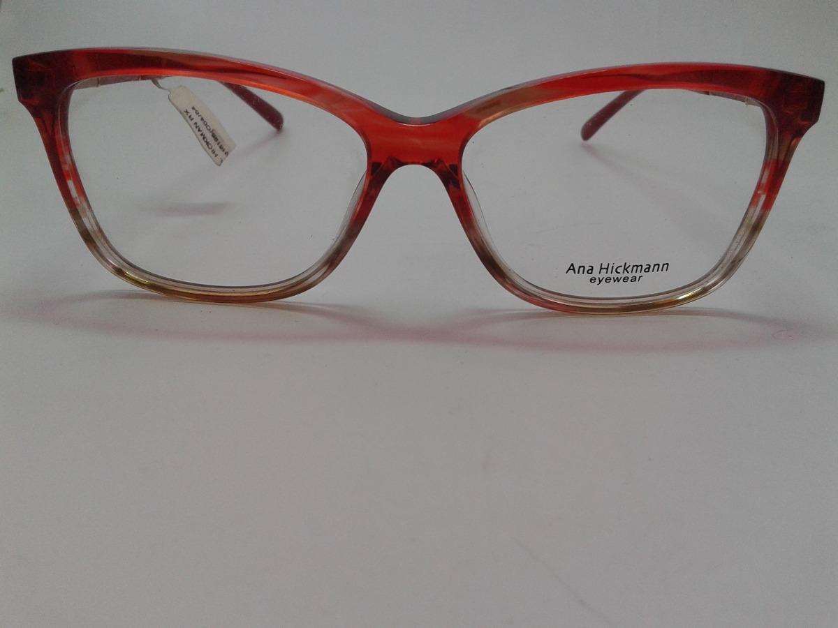 6da63552254c2 Armação Óculos Grau Ana Hickmann Ah6195 C04 - R  269,00 em Mercado Livre