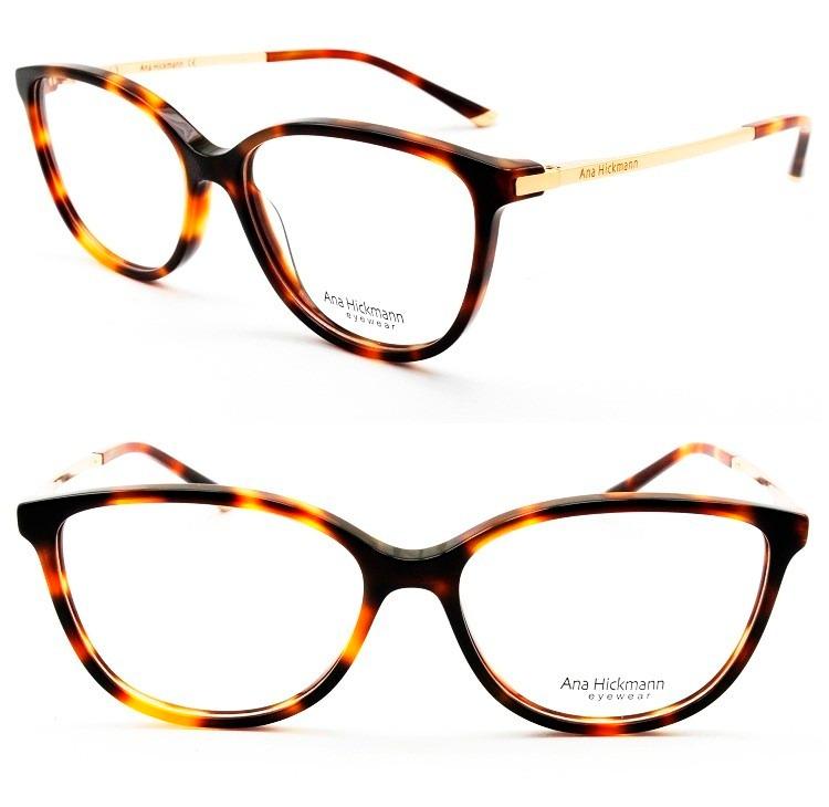 armação óculos grau ana hickmann ah6263 retrô original d92e379bb1