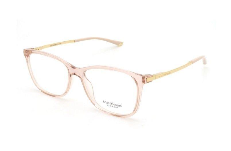 2eb98c4eb Armação Oculos Grau Ana Hickmann Ah6264 T03 Nude - R$ 329,00 em ...