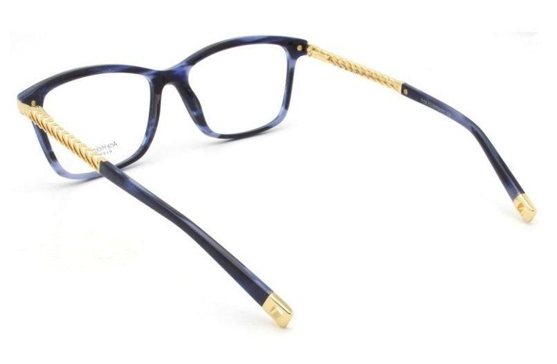 3b3c440f4 armação oculos grau ana hickmann ah6319 e02 azul dourado. Carregando zoom.
