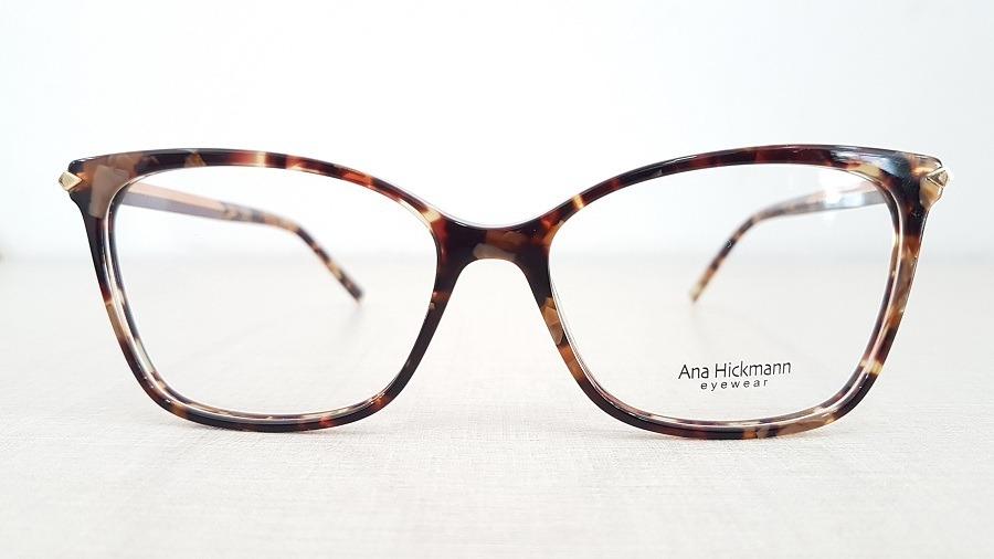 armação óculos grau ana hickmann ah6344 g21 coleção 2019. Carregando zoom. a827f2fb99