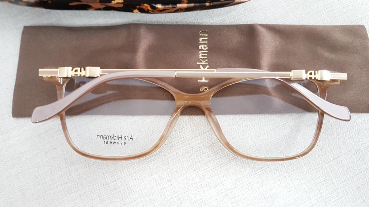 armação óculos grau ana hickmann ah6346 h02 coleção 2019. Carregando zoom. 669237a8de