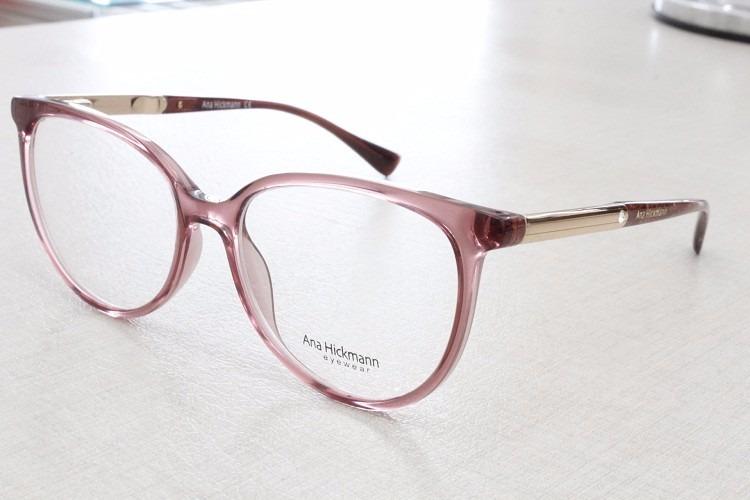 armação óculos grau ana hickmann lançamento original - 6265 3dea932833
