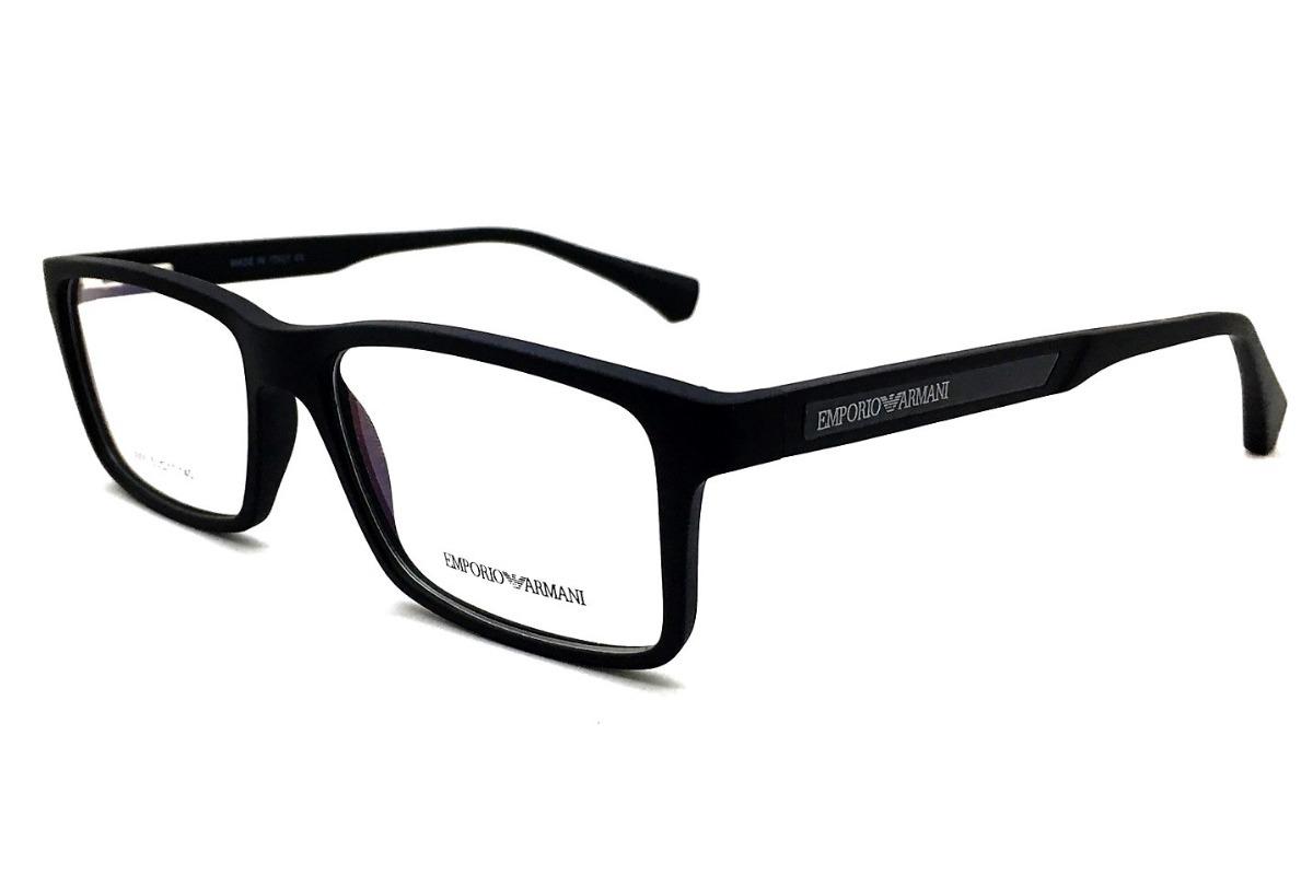 Armação Óculos Grau Armani Ea3055 Masculino Original - R  100,00 em ... a544694b26