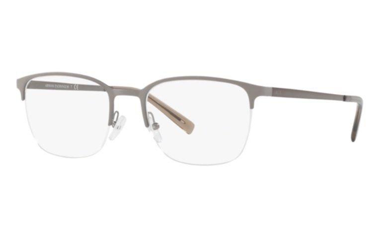 b510232ac Armação Oculos Grau Armani Exchange Ax1032 6108 53 Cinza Fos - R ...