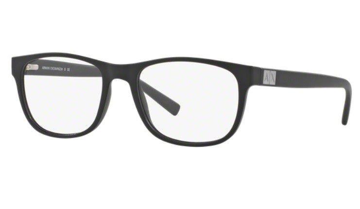 Armação Oculos Grau Armani Exchange Ax3034l 8078 Preto Fosco - R ... fbbefd981b