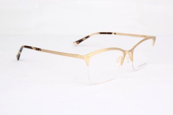 Armação Oculos Grau Atitude At1626 04a Dourado - R  169,00 em ... 4cd2f9e56f