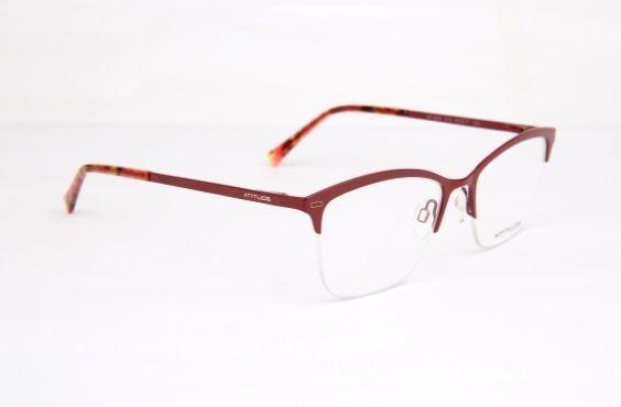 Armação Oculos Grau Atitude At1626 07a Bordô - R  149,00 em Mercado ... 188f199cf6