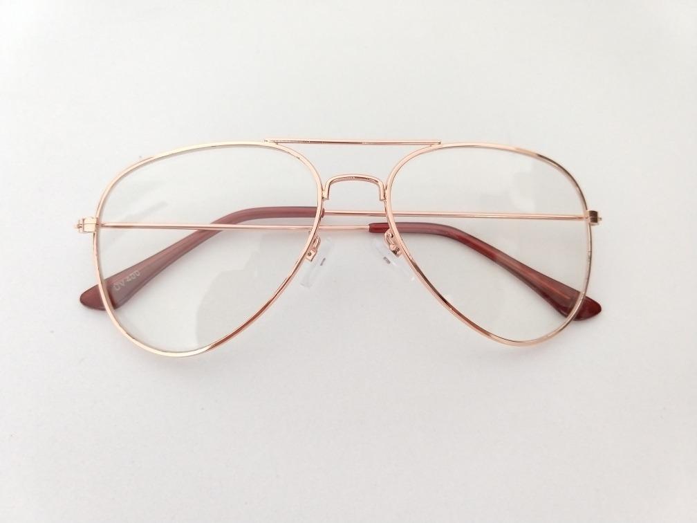 a8b8ef47c534f armação óculos grau aviador barato cor cobre. Carregando zoom.