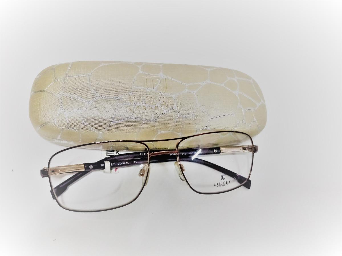 e3275e838 Armação Óculos Grau Bulget Bg1400 04e 58x17 - R$ 149,90 em Mercado Livre