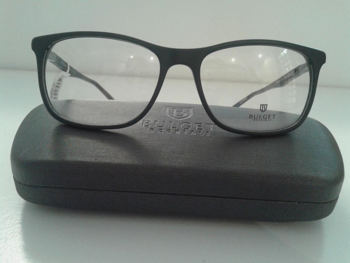 26b40ee72f7c9 Armação Oculos Grau Bulget Bg6151 B01 55 - R  169,90 em Mercado Livre