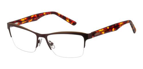 armação óculos grau colcci 556011553 marrom - refinado