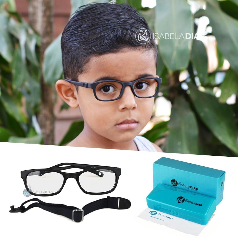7c4261779e644 armação óculos grau criança infantil elastico flexivel tr232. Carregando  zoom.