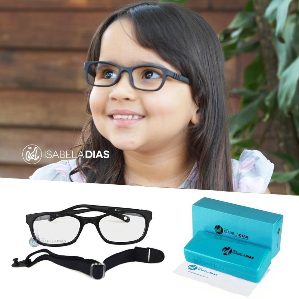 armação óculos grau criança infantil elastico flexivel tr232. Carregando  zoom. 635dfb6d7c