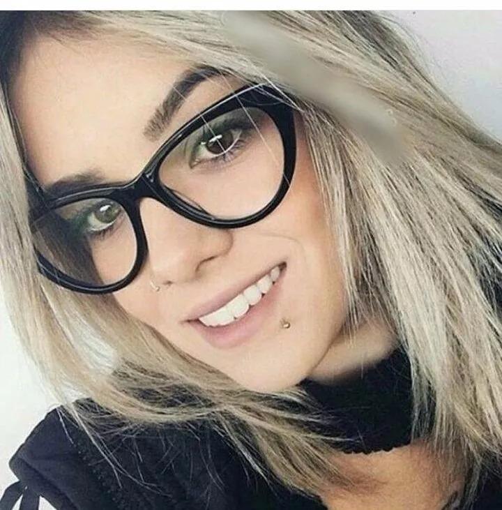 01a6a975a04 Armação Oculos Grau Dior Gatinho + Grau Grau Perto 1 A 4 - R  99