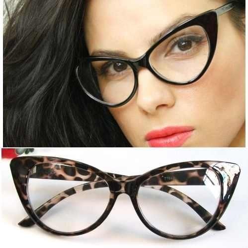 06321a6dc67d3 Armação Oculos Grau Dior Gatinho + Lentes Multifocais - R  499