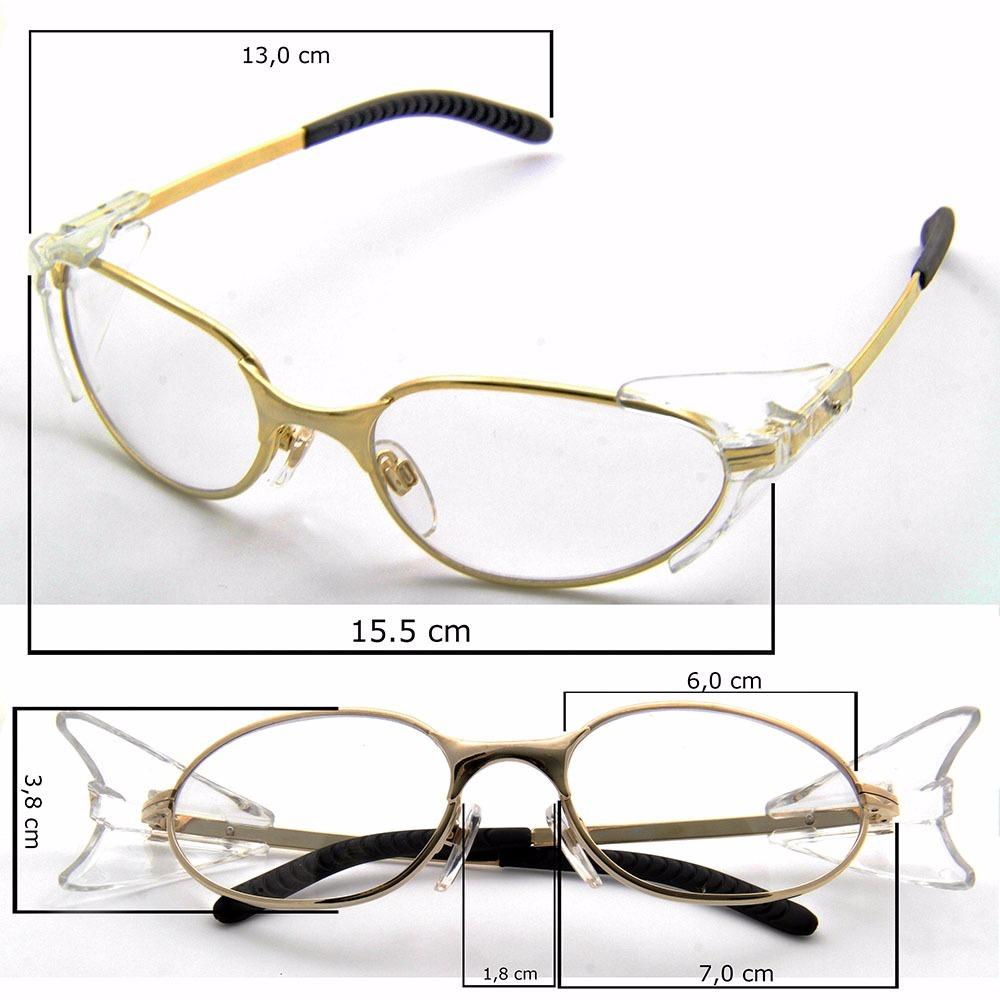 809dd5a80e9dc armação oculos grau dourado feminino masculino modelo sport. Carregando zoom .