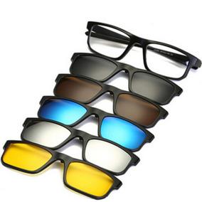 8457c750e Oticas Majestade Oculos Clip On - Óculos no Mercado Livre Brasil