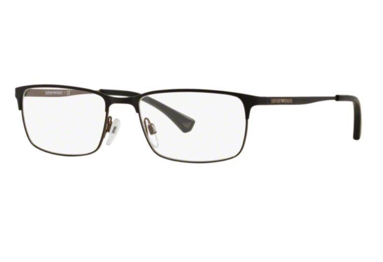 Armação Oculos Grau Emporio Armani Ea1042 3126 55 Grafite - R  299 ... 60120efb33