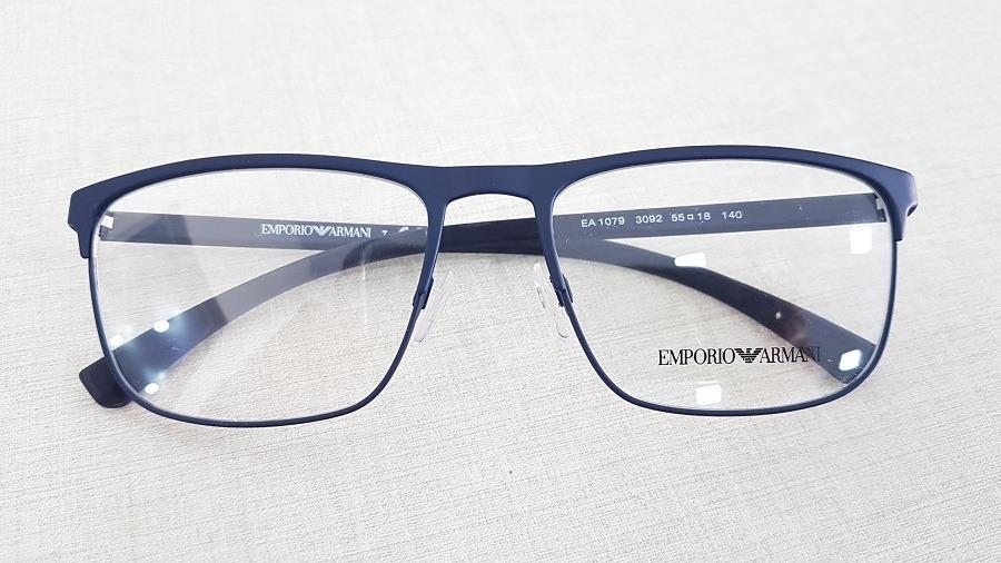 armação oculos grau emporio armani ea1079 3092 tamanho 55. Carregando zoom. 13d51fd73d