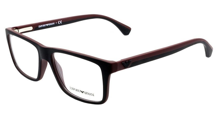 6f7b54135e8bd armação óculos grau emporio armani ea3034 5614 tamanho 55. Carregando zoom.