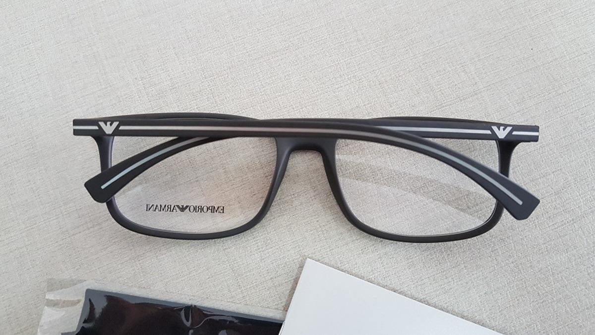 armação oculos grau emporio armani ea3069 5063 tamanho 55. Carregando zoom. ab801119de