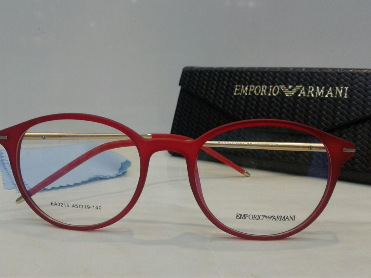 8331d5bdaf784 Armação Oculos Grau Emporio Armani Ea3215 Importado +frete!! - R ..