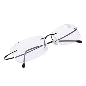 a4483fd6f Oculos Sem Aro Aparente - Óculos Preto no Mercado Livre Brasil