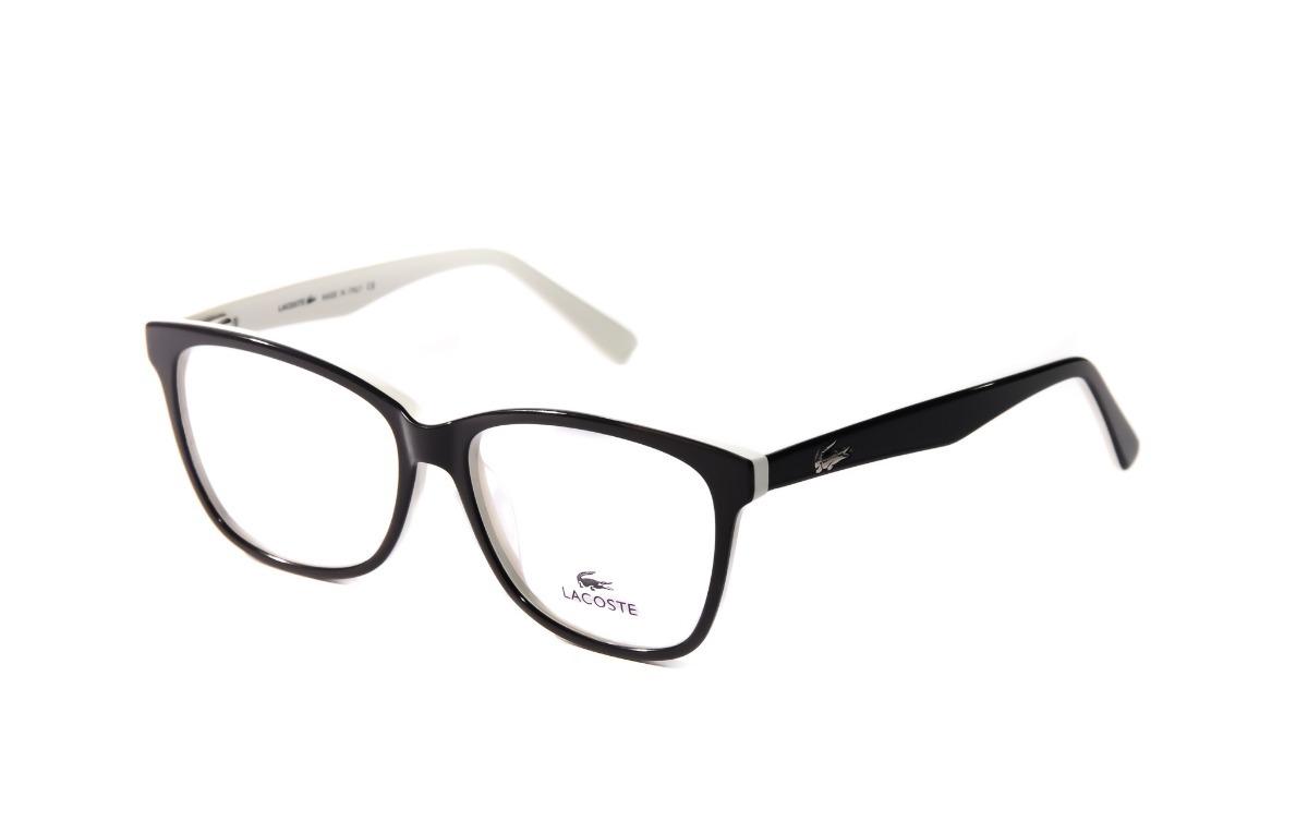 ee95b96eda517 armação óculos grau feminina masculina lacoste original. Carregando zoom.