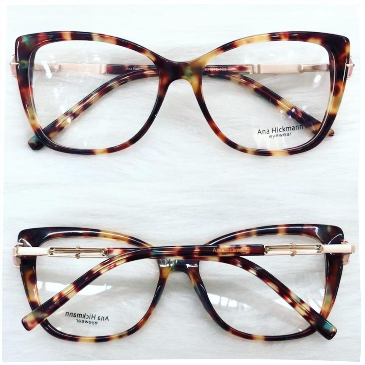 armação oculos grau feminino acetato ah62 importado original. Carregando  zoom. ebc3d55ffc