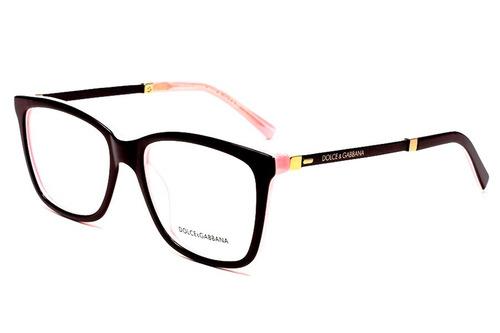 armação oculos grau feminino acetato dg3126 prime original