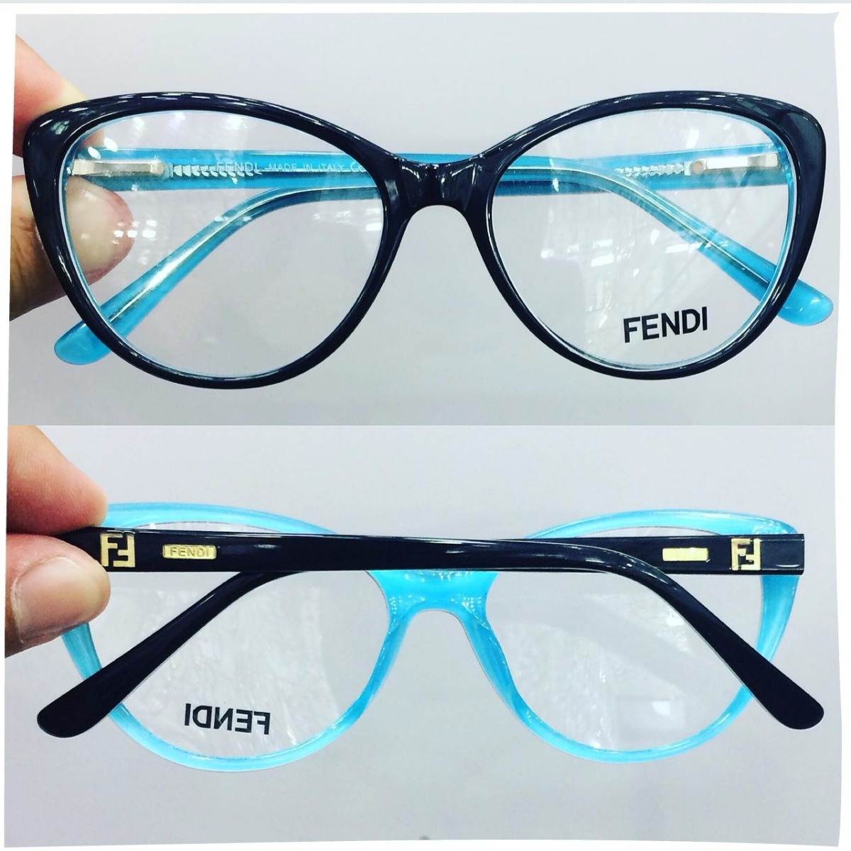 ebf413669 Armação Oculos Grau Feminino Acetato Fd29 Importado Original - R ...