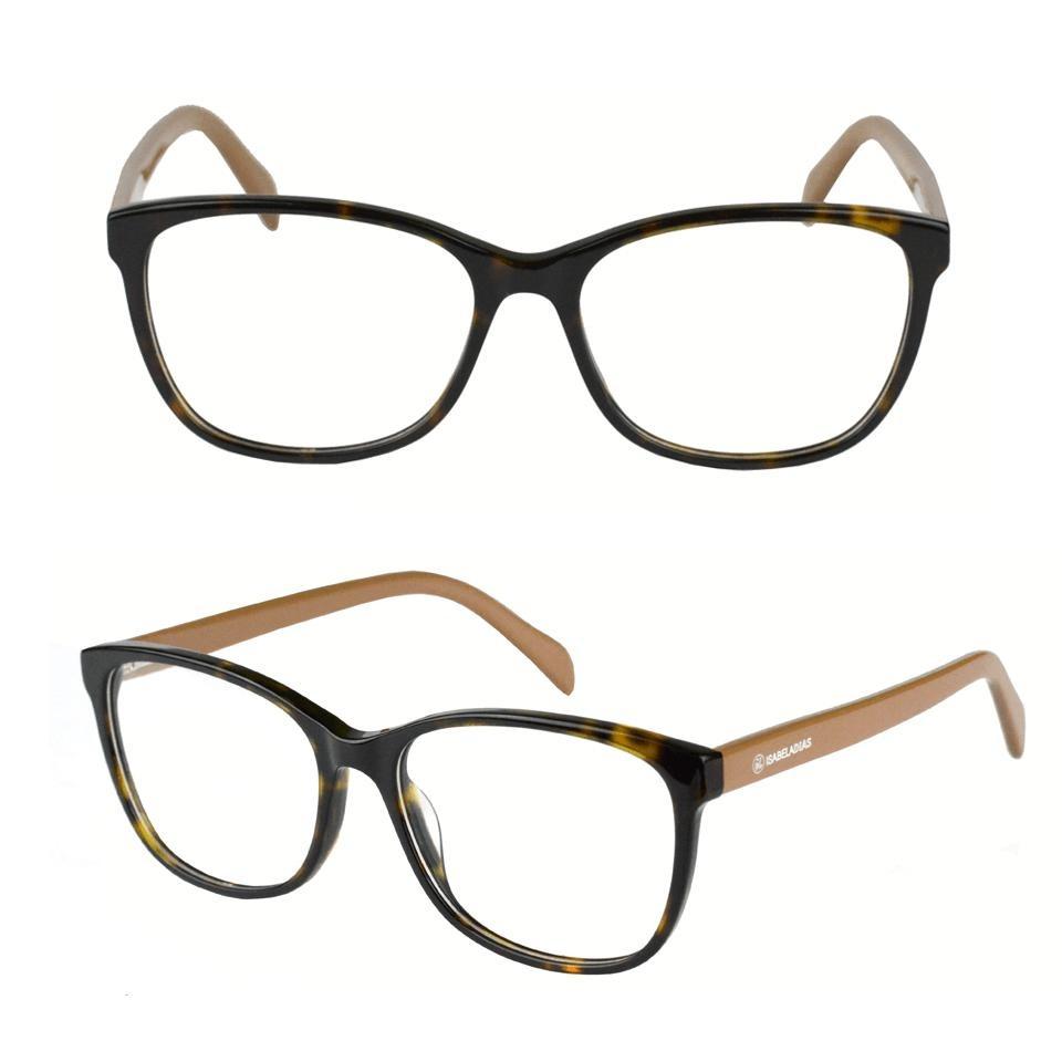 5cdc934b0 armação óculos grau feminino acetato isabela dia marrom 6084. Carregando  zoom.