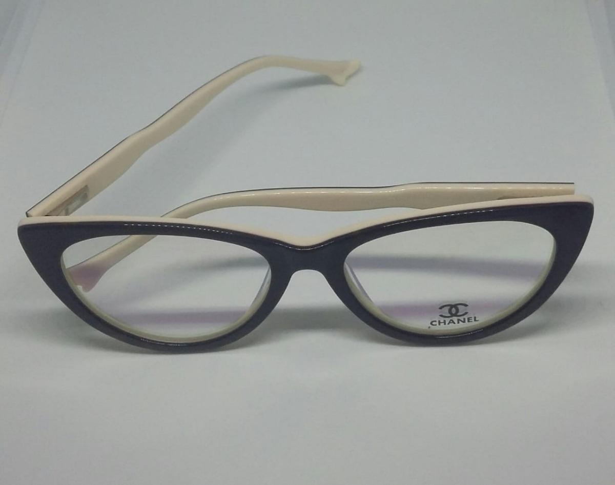 b5ed913f6 armação oculos grau feminino ch acetato gatinho g original. Carregando zoom.