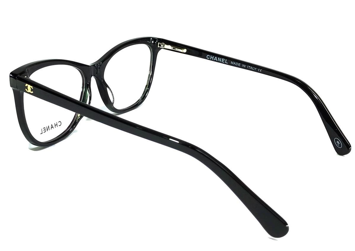 ed6c4a9fc armação oculos grau feminino ch3341 gatinho original oferta. Carregando zoom .