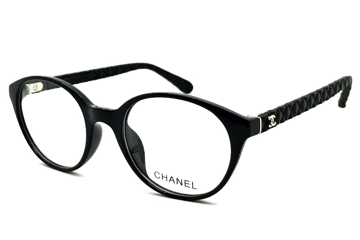 72bdc27087bf5 armação oculos grau feminino chanel acetato original redondo. Carregando  zoom.