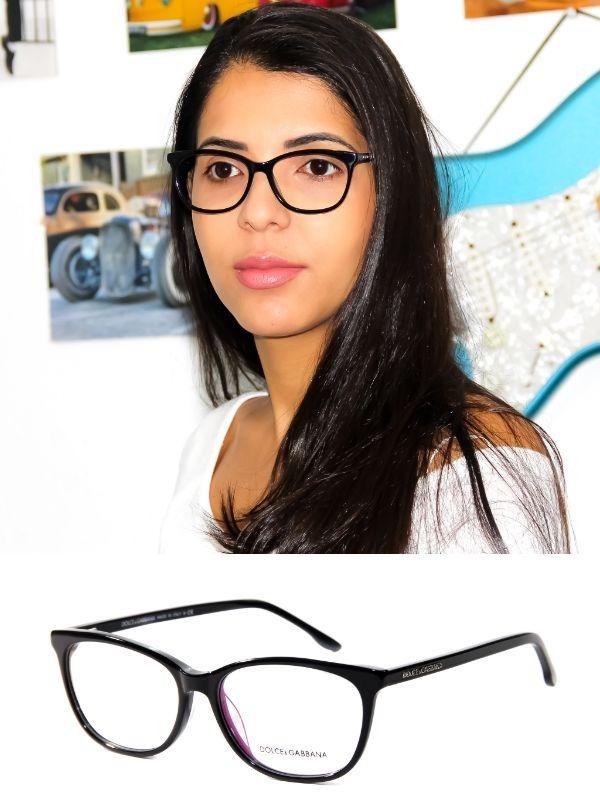 54fbcb5213ed2 Armação Oculos Grau Feminino Dg3219 Acetato Original Mullher - R ...