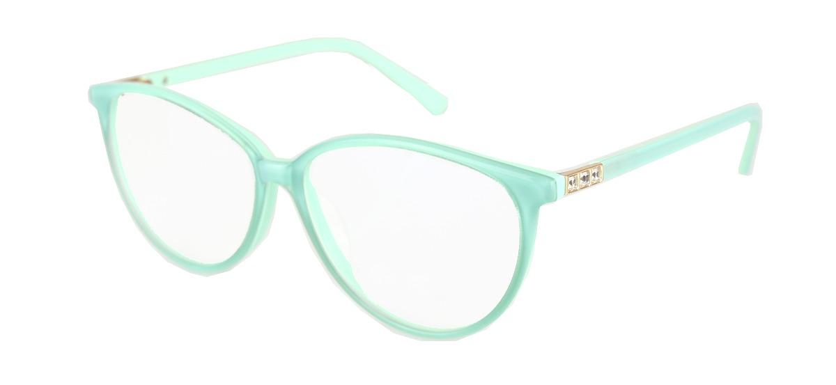 6530a823e armação óculos grau feminino érika verde redondo barato. Carregando zoom.