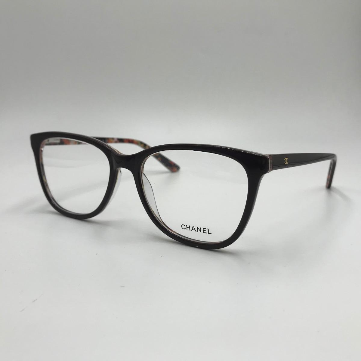 43a35bc2e8912 Armação Óculos Grau Feminino Gatinho Acetato 3228 - R  100,00 em ...