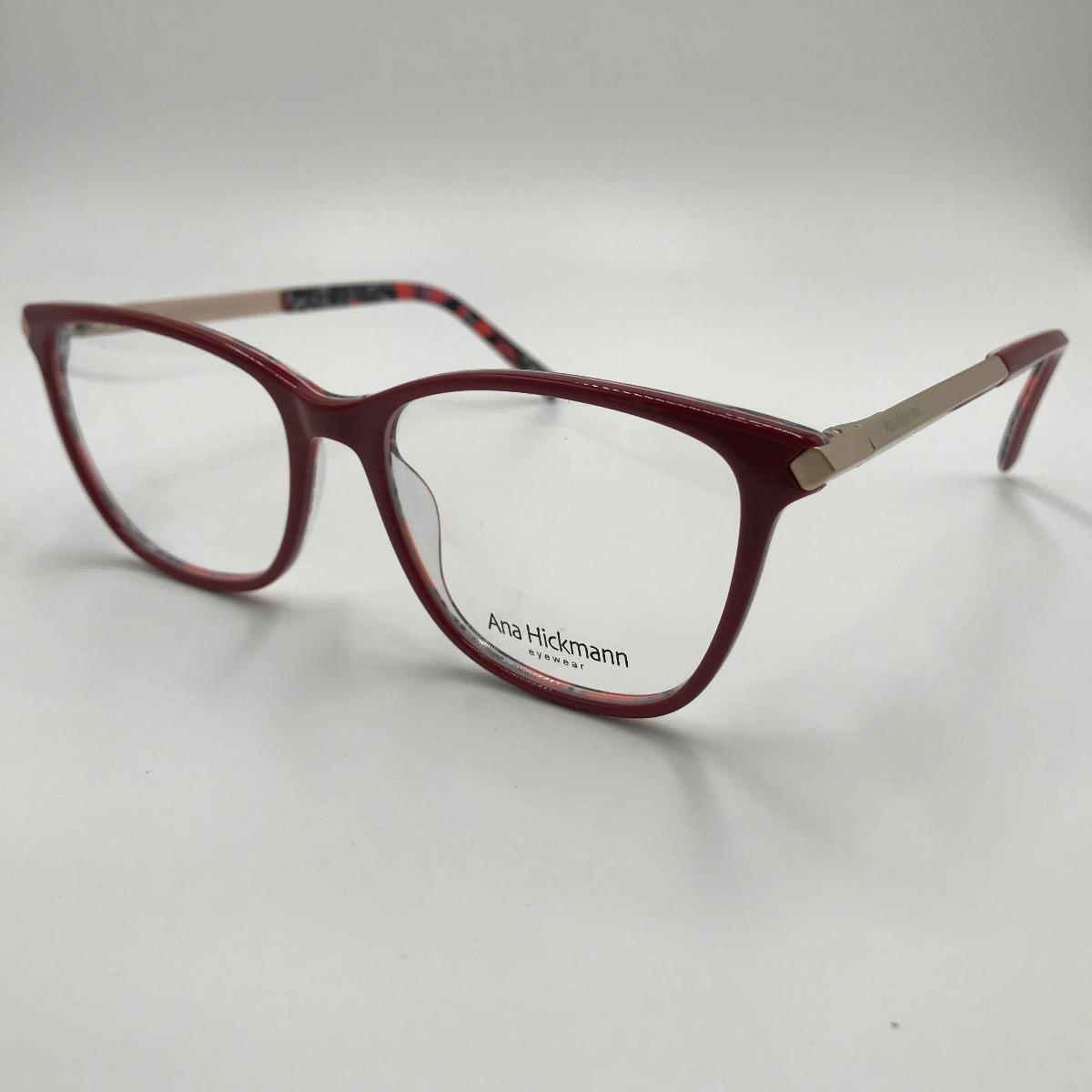 Armação Óculos Grau Feminino Gatinho Acetato 6306 - R  120,00 em ... 1f44c9dac3
