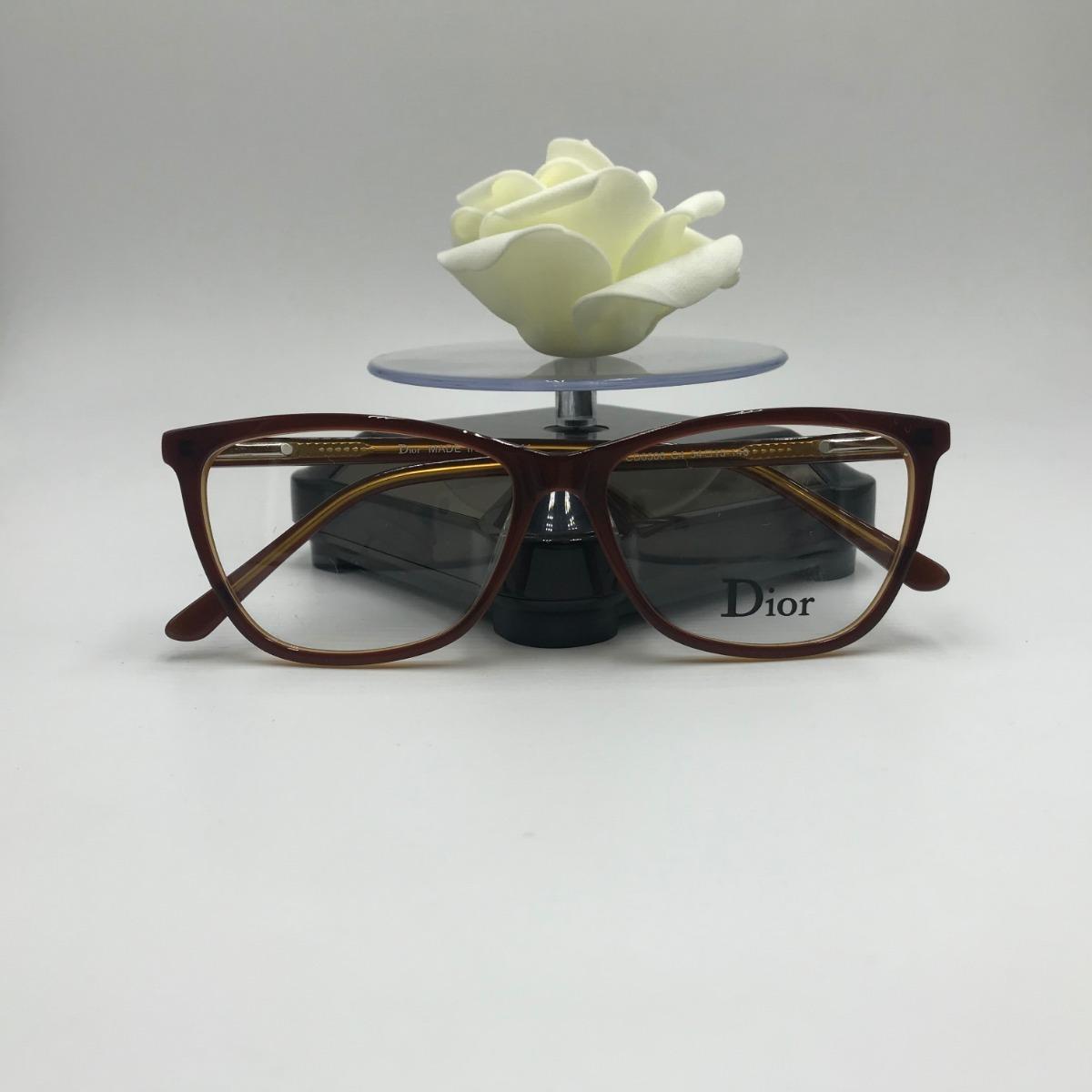 Armação Óculos Grau Feminino Gatinho Acetato 6506 - R  100,00 em ... 7e6c96faed