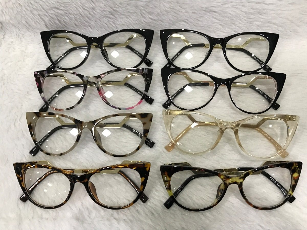 09decb6447196 armação óculos grau feminino gatinho acetato metal 0119. Carregando zoom.