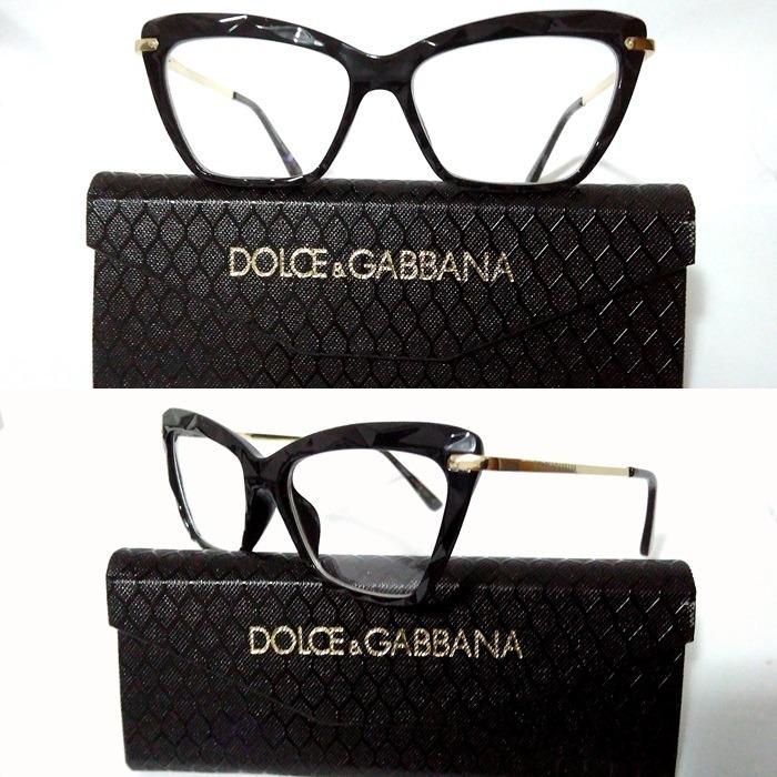 Armação Óculos Grau Feminino Gatinho Dg2018 Diamante Acetato - R  110,00 em Mercado  Livre 1484cc779a