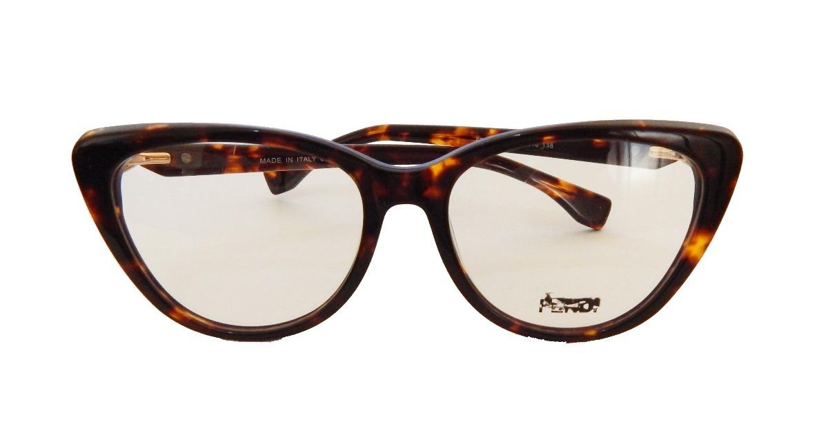 fe330e9897a69 armação óculos grau feminino gatinho fendi ff0218 tartaruga. Carregando  zoom.