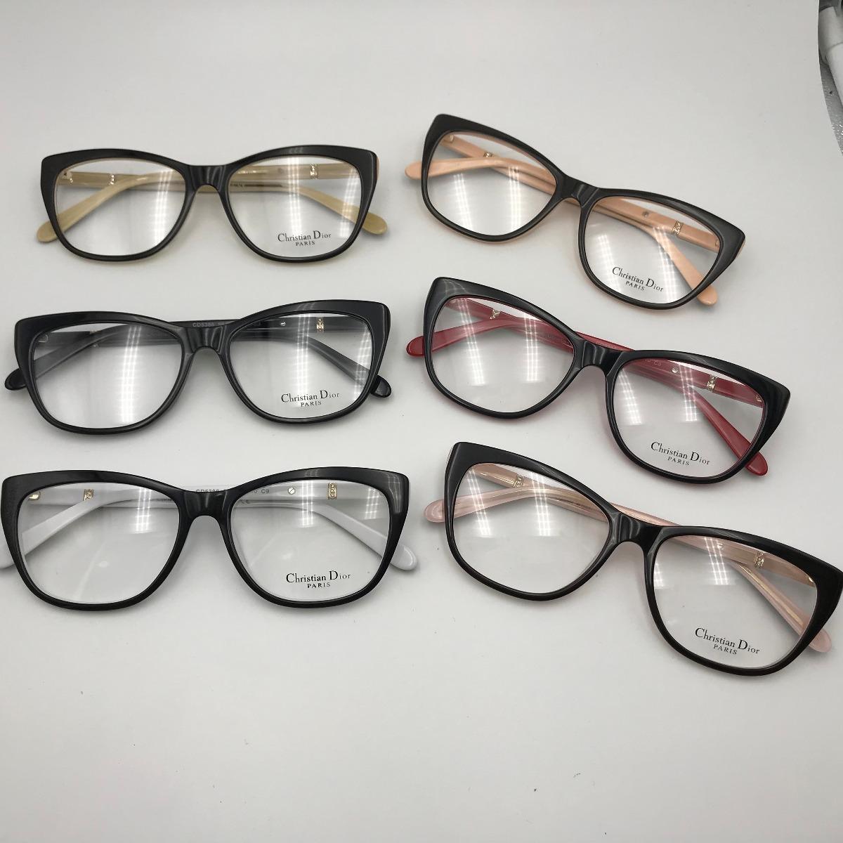 armação óculos grau feminino gatinho quadrado acetato 5388 p. Carregando  zoom. 7fe2123806