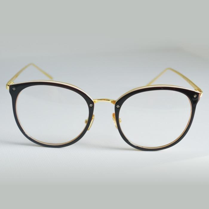 Armação Óculos Grau Feminino Geek Redondo Quadrado Marrom - R  44,00 ... a10e29e375