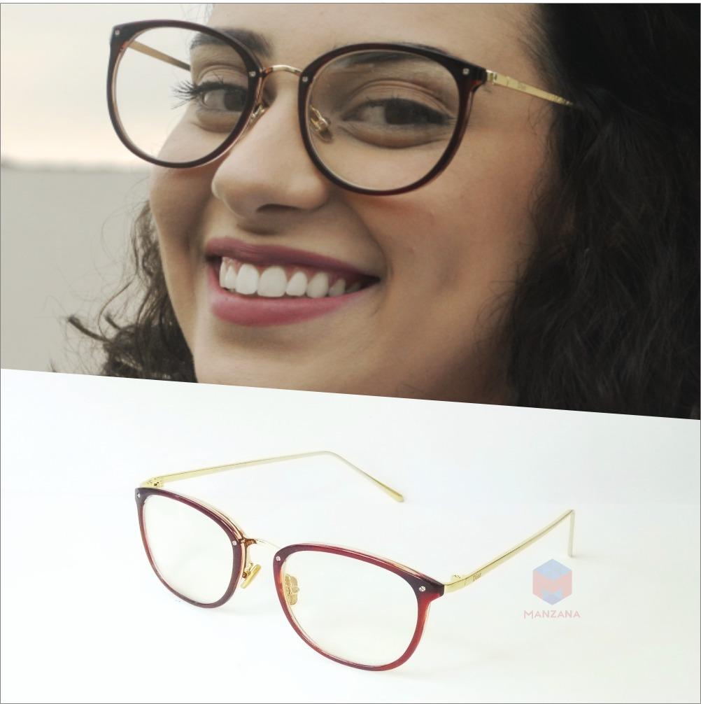 fac86e848189d armação óculos grau feminino geek redondo quadrado pinhão. Carregando zoom.